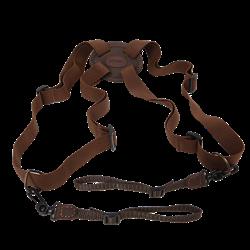 Obrazek Szelki do lornetki FOREST brązowy